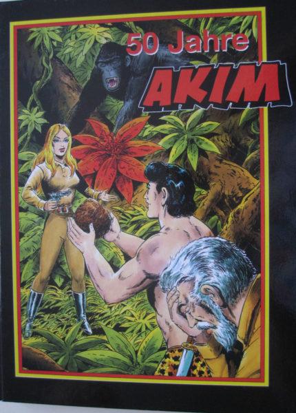 """Akim Buch """"50 Jahre"""" Hethke Ausgabe"""