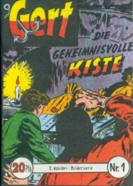 Gert Kolibris Nr. 1 – 24 komplett