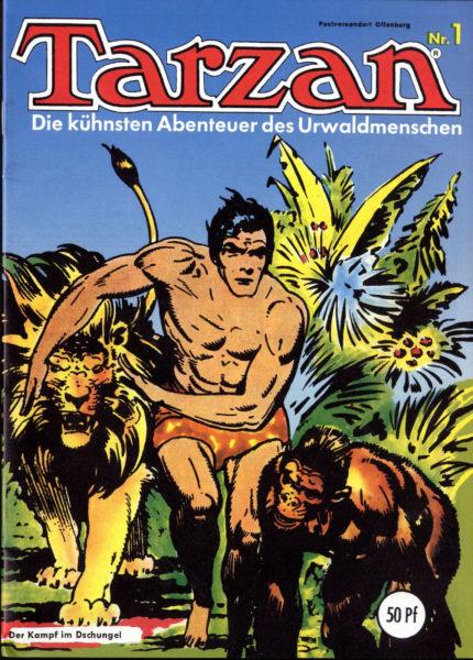 Tarzan Mondial (div. Nr. 1-3, 10-30, 32, 33, 34, 39-50)