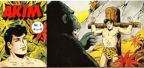 Akim Piccolo Nr. 1 - Version 4 von 5 (Buch 50 Jahre)