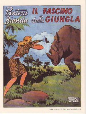 Blonder Panther 1981 GBÜ Nr. 69 Hethke