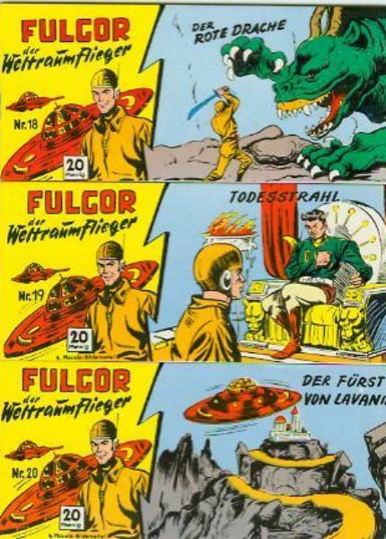 Fulgor Piccolos <br>Nr. 1 &#8211; 49 komplett