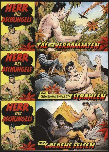 Herr des Dschungels Piccolos, 1 – 3 Neuauflage 4-farbig, neue Cover