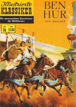 Illustirerte Klassiker Nr. 14 Ben Hur Hethke