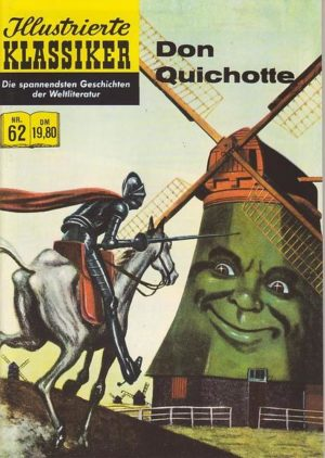 Illustirerte Klassiker Nr. 62 Don Quichotte Hethke