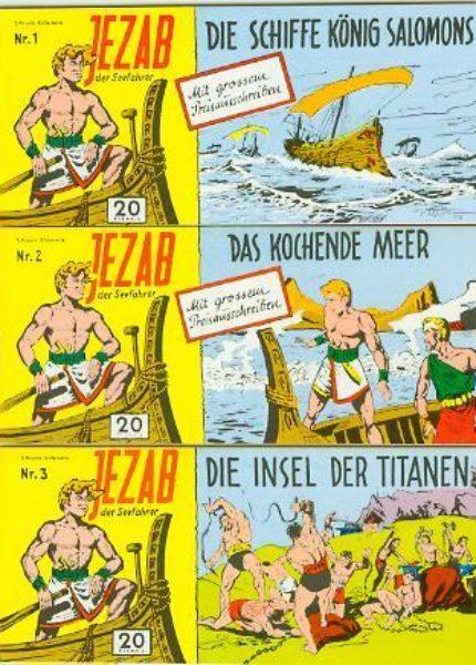 Jezab Piccolos <br> 1 – 42 ND Hethke 1983, komplett