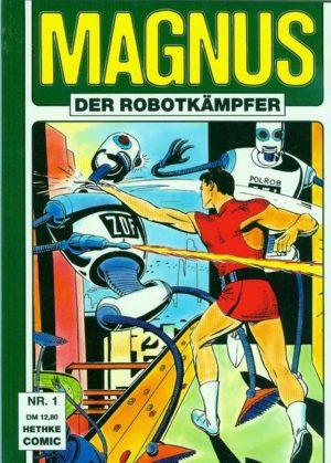 Magnus der Robotkämpfer SC Nr. 1 Hethke
