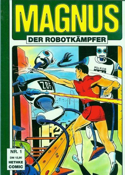 Magnus der Robotkämpfer Softcover<br> 1 &#8211; 8 komplett