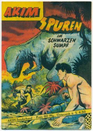 Piccolo-Sonderband 17 Akim - Spuren im schwarzen Sumpf - Original