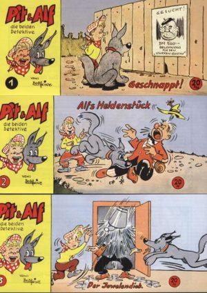 Pit & Alf Piccolos 1 - 12 Hethke