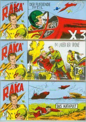 Raka Piccolos Nr. 1 - 51 Hethke