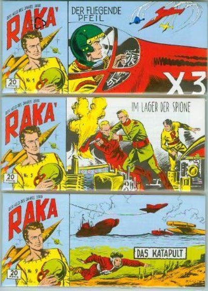 Raka Piccolos <br>Nr. 1 – 51 komplett