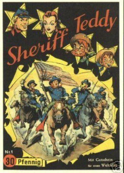 Sheriff Teddy GB (1994) 4-farb.<br>Nr. 1 – 33 komplett