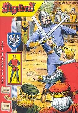 Sigurd Kioskausgabe 38 Titelseite