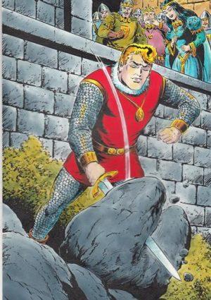Sigurd Originalzeichnung Hansrudi Wäscher Kioskausgabe 3 von 4