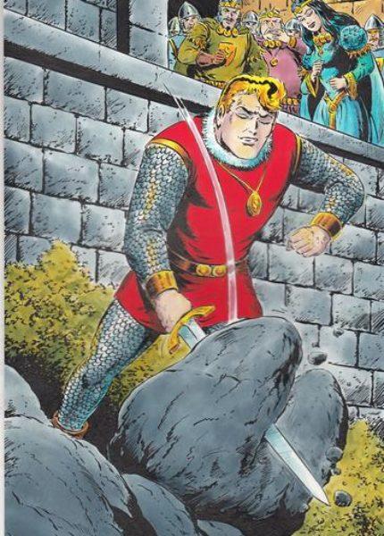 Sigurd Originalzeichnung Hansrudi Wäscher (Kioskausgabe 3 von 4)