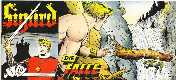 Sigurd Piccolo Nr. 1 - Die Falle - Version