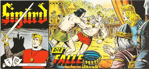 Sigurd Piccolo Nr. 1 - Die Falle - Version Sprechblase Sigurd Piccolo Nr. 1 - Die Falle - Version Sprechblase -.