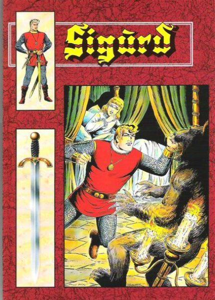 Sigurd Sonderbände (rot)<br>div. Nr. 1 – 32, 46, 51 – 75, 77 – 85