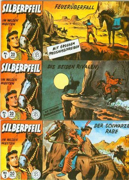 Silberpfeil Piccolo <br>Nr. 1 – 165 von CCH/Dargatz
