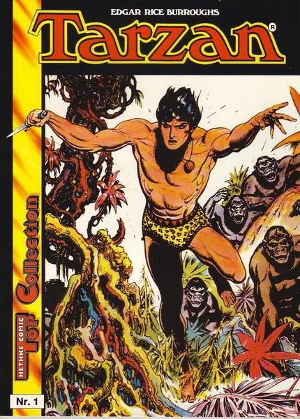 Tarzan Softcover Top Collection Alben 1 – 6 komplett