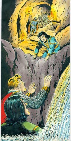 Sigurd OriginalzeichnungHansrudi Wäscher TitelSigurdBuch3#58