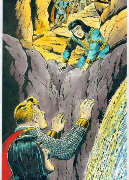 Sigurd Originalzeichnung<br>Hansrudi Wäscher für TitelseiteBuch <br>Nr. 58