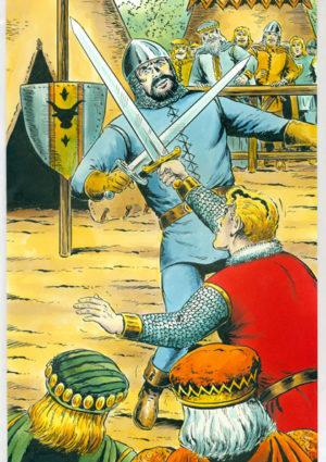 Sigurd Originalzeichnung - Hansrudi Wäscher für Titelseite Kioskausgabe Nr. 38