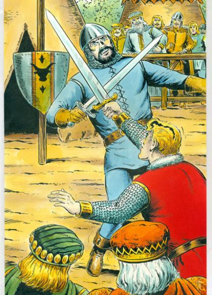 Sigurd Originalzeichnung – Hansrudi Wäscher für Titelseite Kioskausgabe Nr. 38