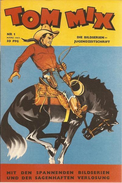 Tom Mix 1953: Nr. 1 - 21 einzeln • www.nostalgiecomics.de