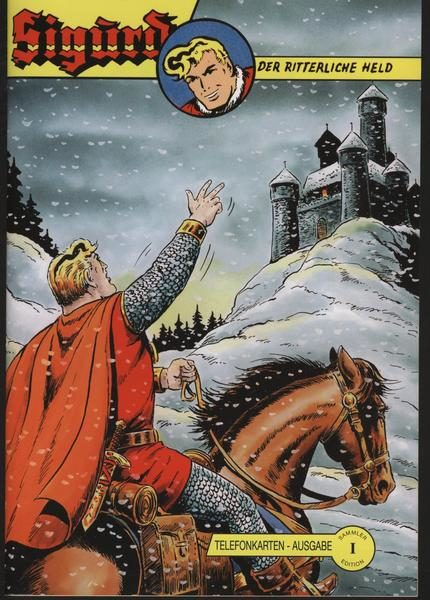 Sigurd Telefonkartenheft 2 – Version I von Hethke