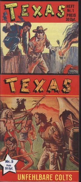 Texas Kleinbände Nr. 1 -32 komplett