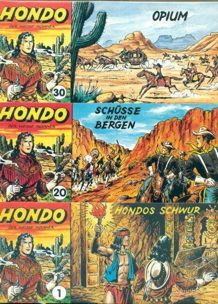 Hondo Piccolo Nr. 1 – 117 komplett, von Metzger, ungelesen 0/0-