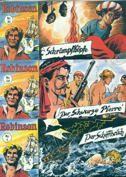 Robinson Piccolo Nr. 1 – 158 komplett, von Dargatz, ungelesen 0/0-