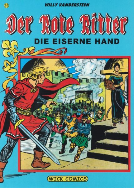 Der Rote Ritter (Wick Comics)  Softcover – <br>div. Nummern (25-39, 52-59 s/w)